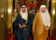 رئيس مجلس الشورى القطري يصل الرياض
