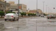 أمطار غزيرة على الخرج