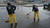 أمانة الرياض تواصل جهودها في معالجة تجمعات مياه الأمطار في أحياء العاصمة