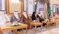 خادم الحرمين الشريفين يستقبل رؤساء مجالس الشورى والنواب والوطني والأمة الخليجيين