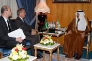 سمو وزير الحرس الوطني يلتقي السفير الفرنسي لدى المملكة