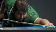 الشمري يحقق المركز الـ 12 في بطولة أمريكا المفتوحة للبلياردو