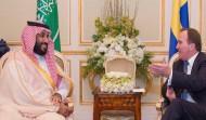 سمو ولي ولي العهد يلتقي رئيس وزراء السويد ويبحثان فرص التعاون الثنائي