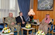 الأمير متعب بن عبدالله يستقبل القائم بالأعمال بالسفارة الأمريكية بالرياض