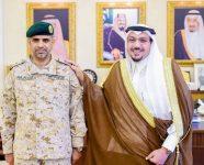 أمير منطقة القصيم يقلد اللواء الطيار الركن الثبيتي رتبته الجديدة