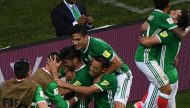 المكسيك تتصدر المجموعة الأولى بفوزها على نيوزيلندا بكأس القارات