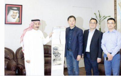 وفد جامعة الدراسات الأجنبية الصينية يزور كلية الآداب بجامعة الملك سعود
