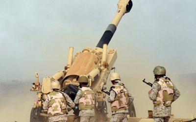 قوات الدفاع الجوي تعترض صاروخاً باليستياً فوق نجران