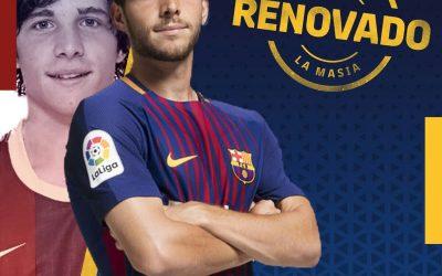 برشلونة يجدد مع سيرجي روبرتو حتى ٢٠٢٢