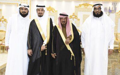 الحربي يحتفل بزفاف ابنه