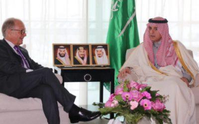 وزير الخارجية يلتقي رئيس مؤتمر ميونخ للأمن