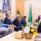 سمو ولي العهد يلتقي رئيس لجنة الشؤون الخارجية في مجلس النواب الأمريكي