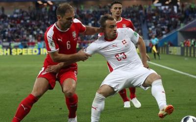 كأس العالم 2018.. منتخب سويسرا يكسب صربيا فى الوقت القاتل