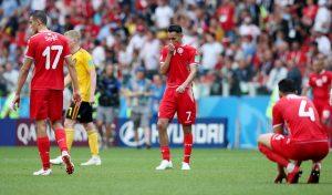 تونس تخسر أمام بلجيكا وتقترب من وداع مونديال روسيا