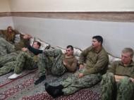 معاقبة ثمانية بحارة اميركيين اعترضتهم ايران في يناير الماضي