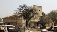 مقتل 5 أشخاص في هجوم انتحاري على كنيسة بنيجيريا