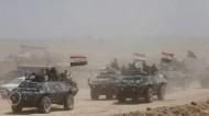 القوات العراقية تواصل قصف الفلوجة