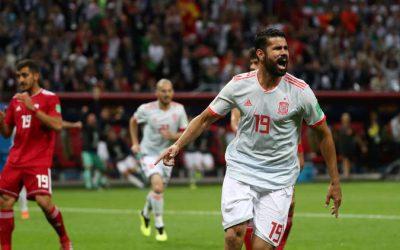 أسبانيا تتغلب على إيران في منافسات الجولة الثانية من نهائيات كأس العالم