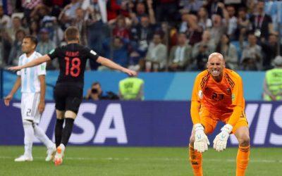 كأس العالم 2018 : كرواتيا تتغلب على الأرجنتين بثلاثية نظيفة