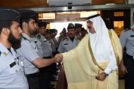 سمو الأمير متعب بن عبد الله يزور مركز المعلومات بوزارة الحرس الوطني