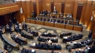 البرلمان البناني يفشل بانتخاب رئيس للجمهورية وسط جدل حول التمديد