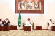 محافظ الخرج يستقبل المعزين بوفاة الملك عبدالله والمبايعين للملك سلمان
