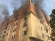 حريق في أحد الأبراج بالخبر يسفر عن حالتى وفاة وإصابة 70 شخص حتى الآن