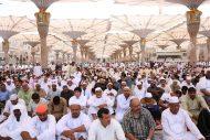 الشيخ الحذيفي في خطبة الجمعة : أسباب الخير في رمضان كثيرة ظاهرة