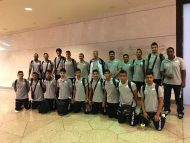 منتخب الطائرة للناشئين يتجه للأردن للمشاركة بالبطولة العربية