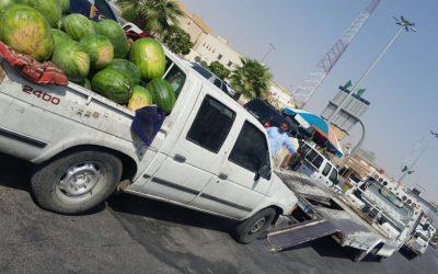 مصادرة 980 كيلو غراماً من الخضروات في سوق السليمانية بالسيح