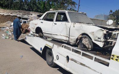 أمانة الطائف تشرع في إزالة 1500 سيارة تالفة من الأحياء والميادين