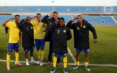 النصر يتصدر دوري الناشئين بفوزه على الهلال بثلاثية