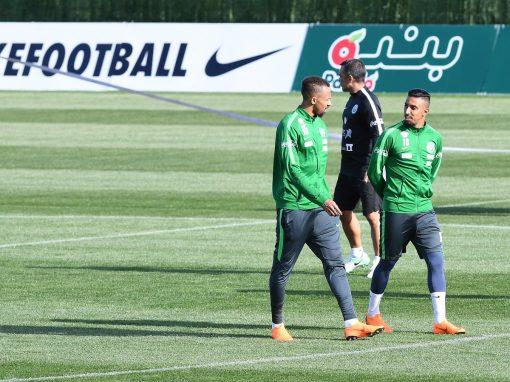 الأخضر يفتتح أولى حصصه التدريبية في معسكره الإعدادي بإسبانيا