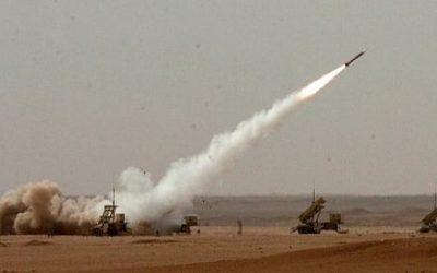 قوات الدفاع الجوي تعترض صاروخا باليستيا أطلقته ميليشيا الحوثي باتجاه خميس مشيط