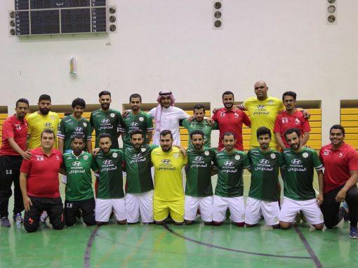 الاتفاق يحسم لقب دوري كرة قدم الصالات