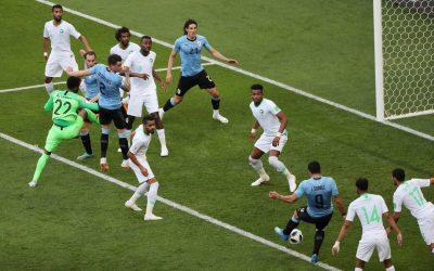 المنتخب السعودي يخسر من الأوروجواي بهدف دون مقابل