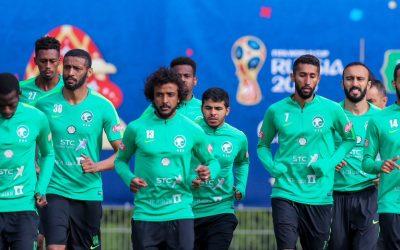المنتخب السعودي يغادر غداً إلى فولغوغراد لمواجهة مصر الاثنين المقبل