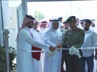 اللواء السحيباني يفتتح شعبة جوازات مجمع الملك عبدالعزيز للإتصالات