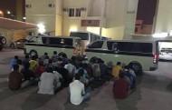 ضبط 31 شخصًا من المتسللين والمخالفين لنظام الإقامة فى الرياض