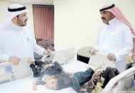 """بدء عملية فصل التوأم السوري"""" تقى ويقين"""" بمستشفى الملك عبدالله التخصصي للأطفال"""
