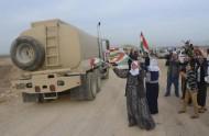 """القوات الكردية العراقية تدخل كوباني لقتال تنظيم """"داعش"""""""
