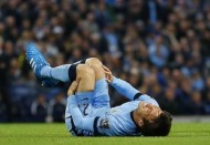 """الاسباني """"سيلفا"""" يغيب عن مانشستر سيتى شهرا للأصابة"""