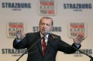 """إردوغان : الضربات الروسية في سوريا """"خطأ كبير"""""""