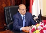 الرئيس اليمنى يصل السودان