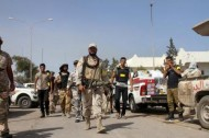 القوات الحكومية الليبية تحرر عدد من المختطفين من قبضة داعش في سرت