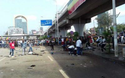 مصرع عدة أشخاص جراء انفجار أثناء تجمع مؤيد لرئيس الوزراء الإثيوبي