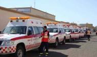 الهلال الأحمر بالباحة يُباشر 87 بلاغاً في ثلاثة أيام