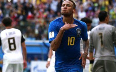 البرازيل تتغلب بصعوبة على كوستاريكا في الوقت بدل الضائع