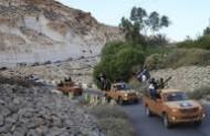 تجدد الاشتباكات بين قوات الجيش الليبي وتنظيم داعش الإرهابي في منطقة القوارشة
