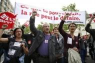 محتجون يشتبكون مع الشرطة بفرنسا في مظاهرات ضد إصلاح قانون العمل